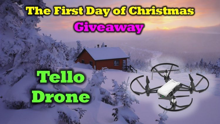 Free Tello Drone –  First Day of the 12 Days of Drone Valley Christmas Giveaways 2019