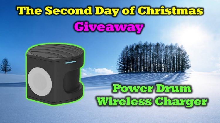 Free AT&T Power Drum Charger – 12 Days of Drone Valley Christmas Giveaways 2019