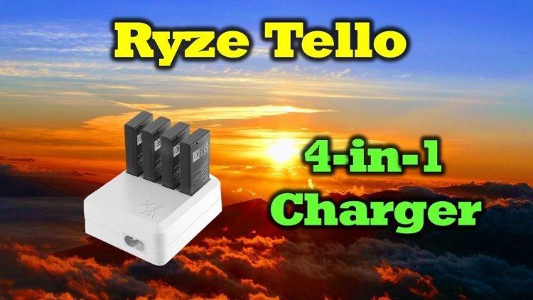 Charge All Your Tello Cells With This 4-in-1 Charger