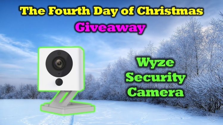 Free WyzeCam – 12 Days of Drone Valley Christmas Giveaways 2019