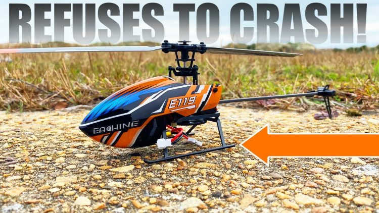 RC HELICOPTER THAT REFUSES TO CRASH