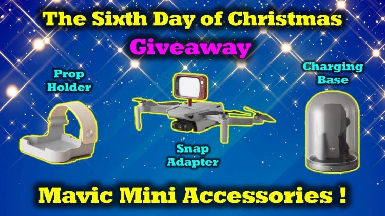 Free Mavic Mini Gear – 12 Days of Drone Valley Christmas Giveaways 2019