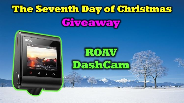 Free ROAV DashCam – 12 Days of Drone Valley Christmas Giveaways 2019