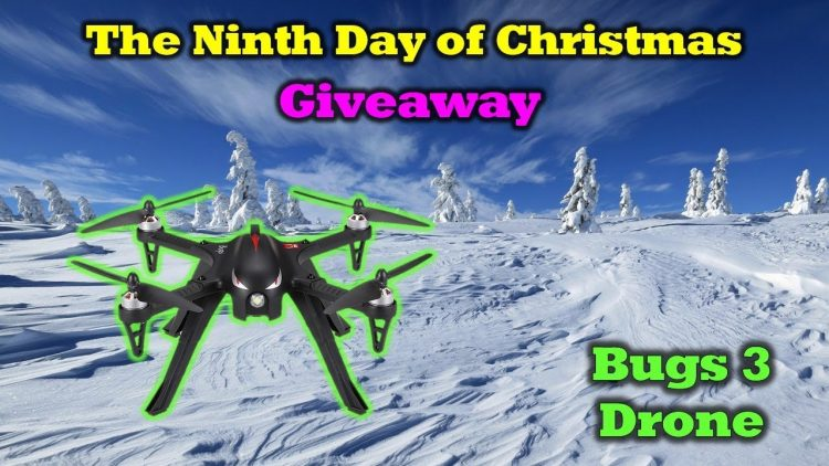 Free Bugs 3 Drone – 12 Days of Drone Valley Christmas Giveaways 2019