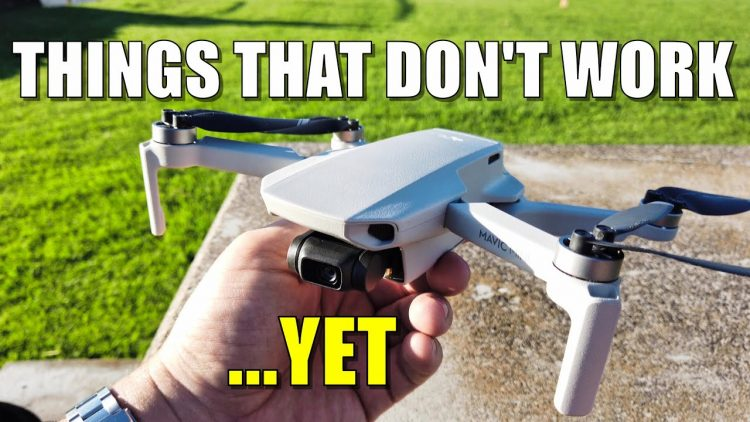 "MAVIC MINI Quickshots ""Hidden Feature"" Doesn't Really Work …Yet! – (Hidden Features Flight Test)"
