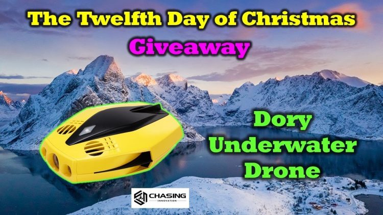 Free Chasing Dory Underwater Drone – 12 Days of Drone Valley Christmas Giveaways 2019