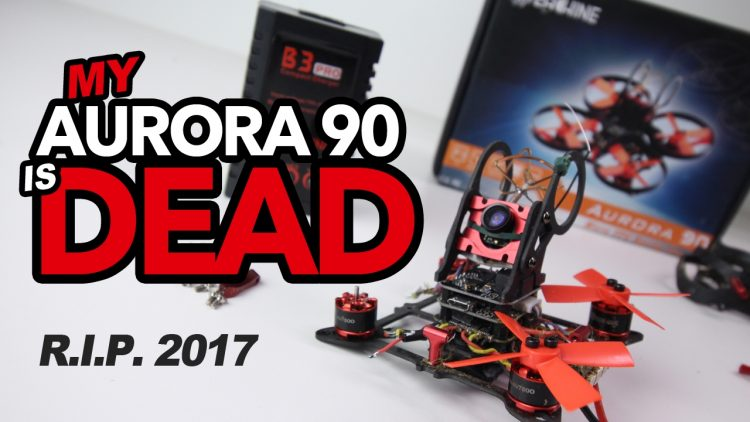 MY AURORA 90 is DEAD – Flight & Review before death.