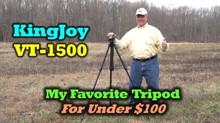 KingJoy VT-1500 – The Best Tripod for Under $100