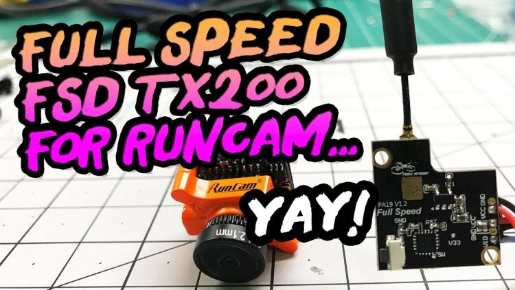 200mw Brushless Micro Vtx – FULL SPEED FSD-TX200 Review