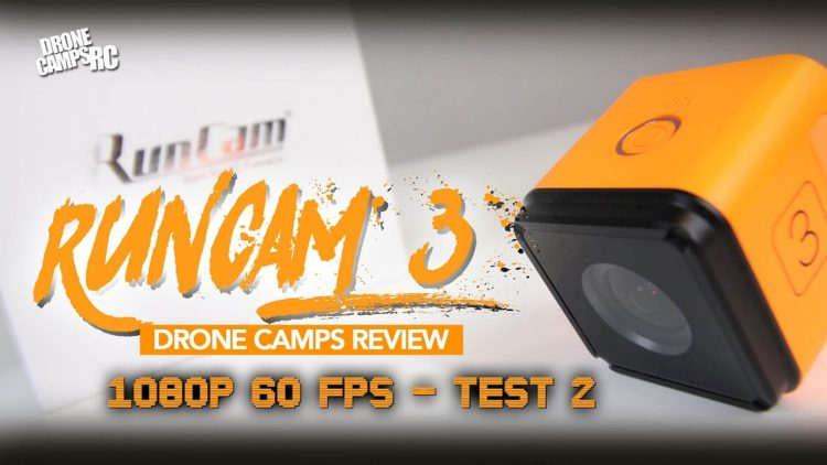 RUNCAM 3  – TEST #2 – 1080p 60fps – Review