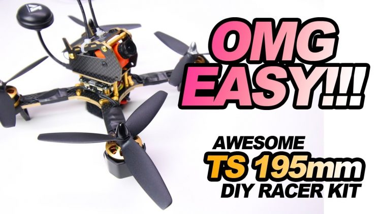 AWESOME TS 195 – OMG EASY – BUILD, REVIEW, & FLIGHT