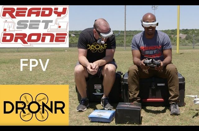 FPV Drone Racing With DRONR