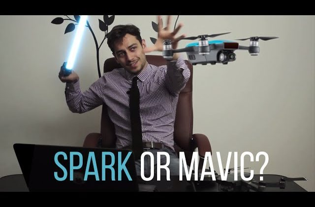 DJI Spark or the Mavic Pro – Which should you buy? Spark Vs Mavic