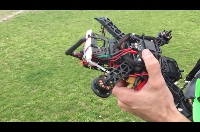 Drone Crash Slow Motion