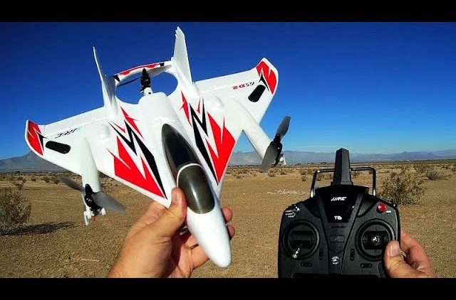 JJRC M02 Brushless VTOL RC Airplane Flight Test Review