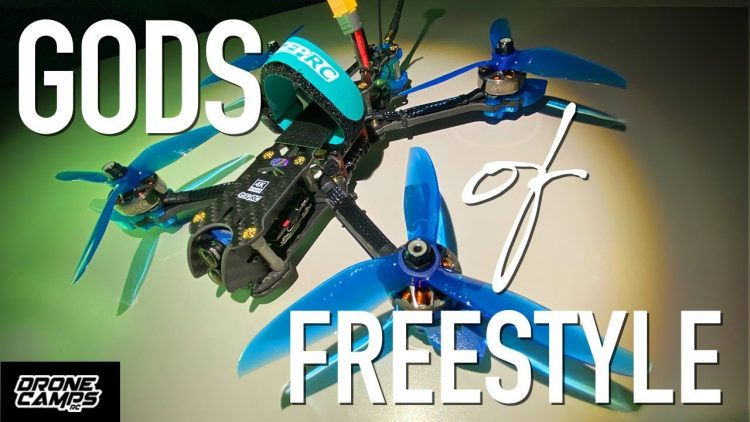 GODS of FREESTYLE! – GEPRC MARK4 4K QUAD – FULL REVIEW & FLIGHTS