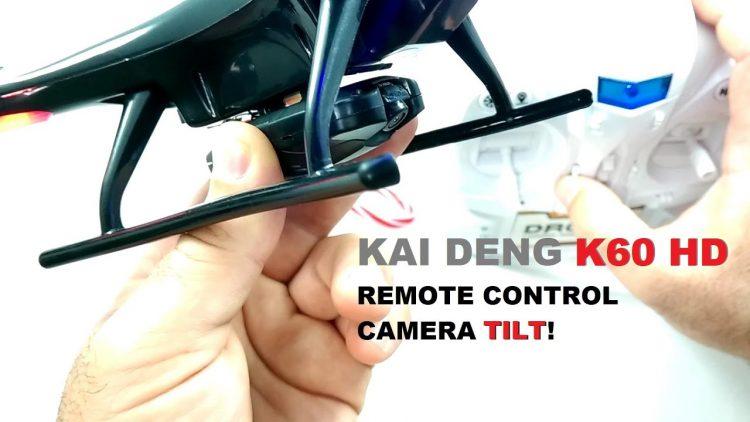 KAI DENG K60 HD Mini QuadCopter –  [Remote Camera Tilt Function]