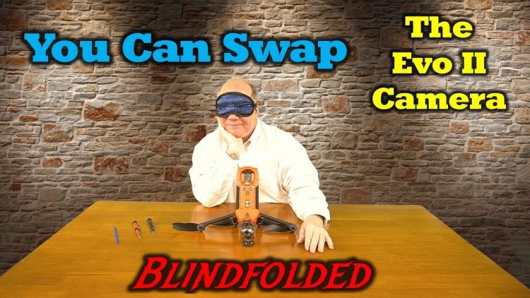 Autel Evo 2 – I Show You How To Swap Out The Camera – Blindfolded