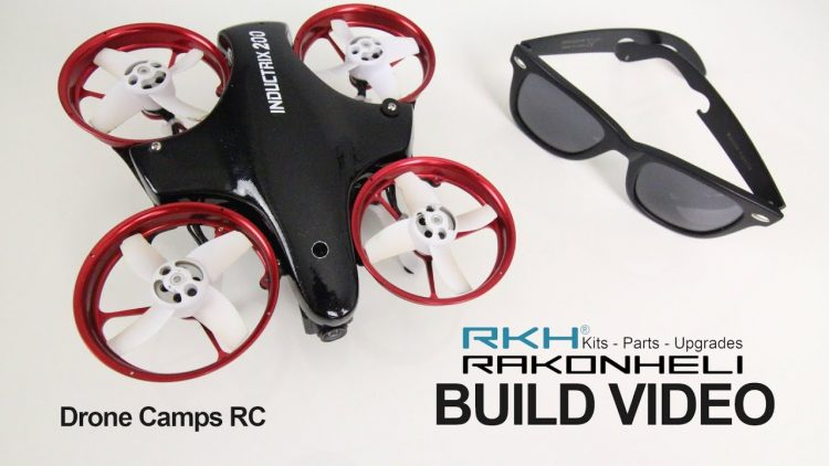 INDUCTRIX 200 Carbon Fiber Frame, Build Video (Courtesy of Rakon Heli)