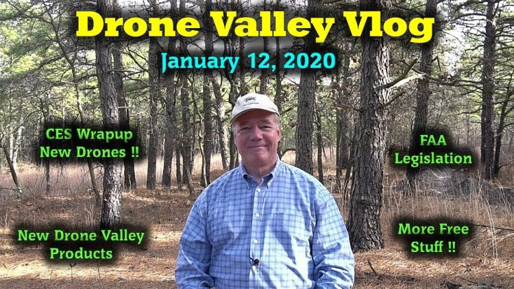 Drone Valley Vlog #17 – New Drones – Skydio Accessories – FAA Proposal Thoughts – More Free Stuff