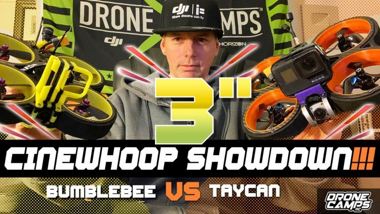 BEST CINEWHOOP SHOWDOWN – Diatone Taycan VS iFlight Bumblebee ??