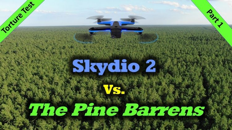Torture Test #1 – Skydio 2 Vs. The Scary Woods