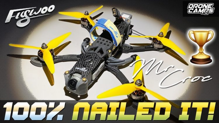 100% NAILED IT! – Flywoo MR. CROC HD – FULL REVIEW & FLIGHTS ?
