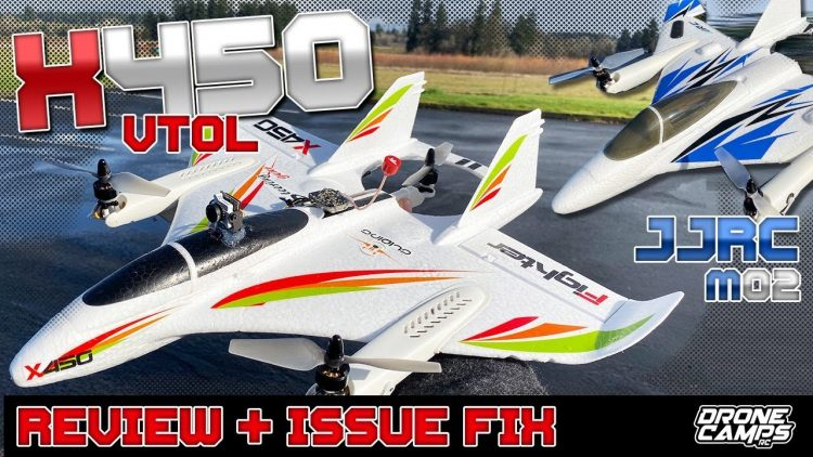 MAJOR ISSUE + FIX ‼️ XK X450 VTOL & JJRC M02 VTOL – Review & Flights