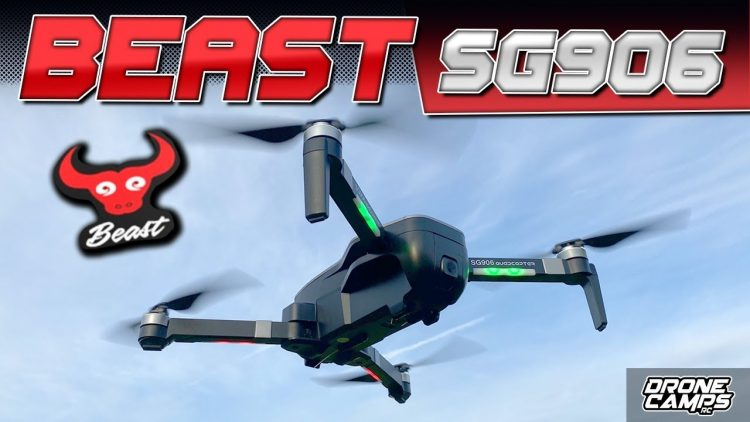 DJI MAVIC MINI? – GET a BEAST! – ZLRC BEAST SG906 4K DRONE – REVIEW & FLIGHTS ?