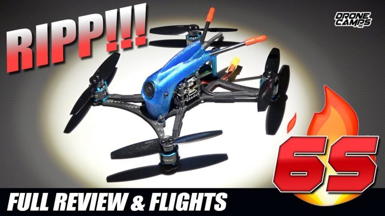 6S TOOTHPICK ??? – HGLRC Parrot 132 – FULL REVIEW & FLIGHTS