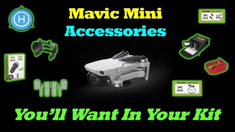 """Mavic Mini – 10 Awesome Accessories You""""ll Want In Your Kit"""