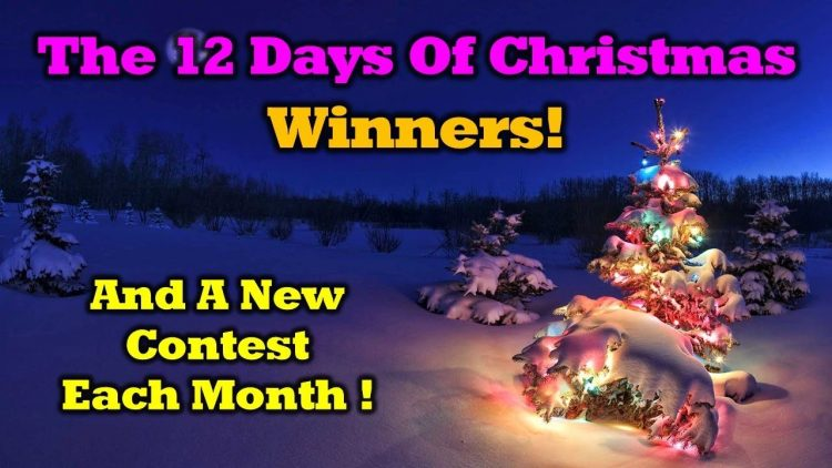 12 Days Of Drone Valley Christmas Winners And a New Giveaway!