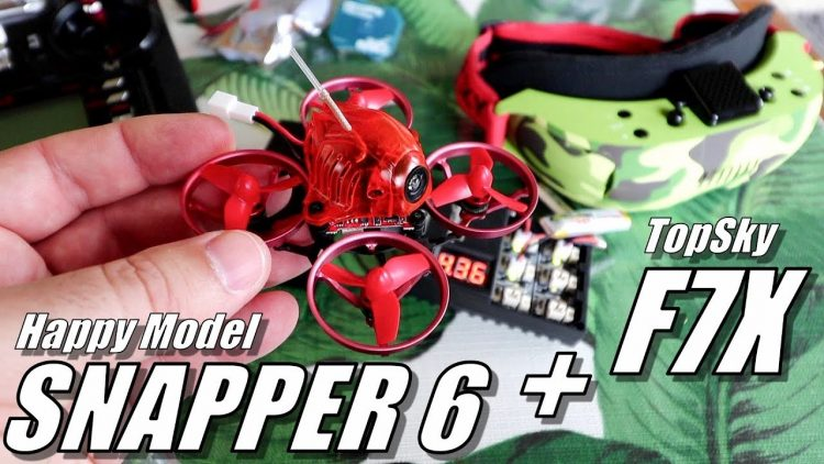 HappyModel SNAPPER 6 Micro & TopSky F7X Goggles Dual Review – [Unboxing, Flight Test, Pros & Cons]
