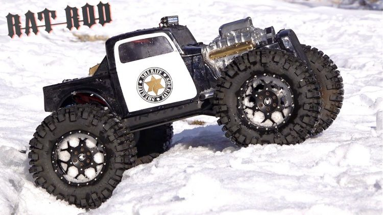SHERIFF RAT ROD on RANGER SNOW PATROL – TRAXXAS SUMMIT MONSTER TRUCK | RC ADVENTURES
