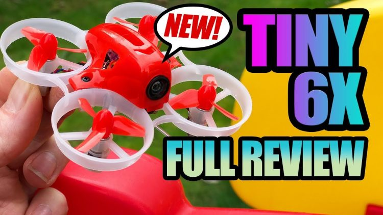 LDARC Tiny 6X Series – EASIEST Ready to Fly FPV Racer – Review, LOS, and Flight Test