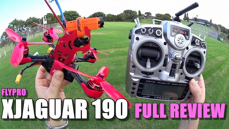 FLYPRO XJAGUAR 190 – Full Review – [Unbox / Build / Flight-Crash Test / Pros & Cons]