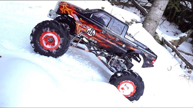 MUD-D SMT10 HH BL 3500kv 2.8 FLING KINGS on SNOW PATROL | RC ADVENTURES