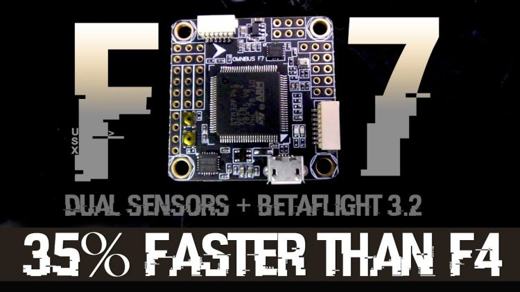 Omnibus F7 – 35% faster than F4, Dual SPI Version – Important Overview