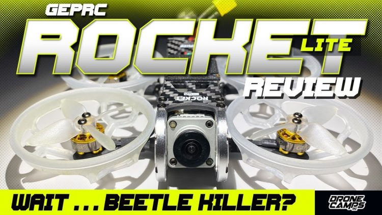 DJI Beetle Killer Already? – GepRc Rocket Lite with Caddx Vista – COMPLETE REVIEW