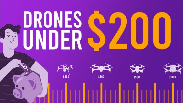 Best Drones under $200 (My top 5 in 2020)