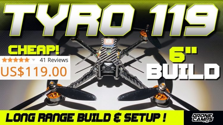 $119 Long Range Fpv Quad! – Eachine TYRO119 – Build, Setup, & Betaflight