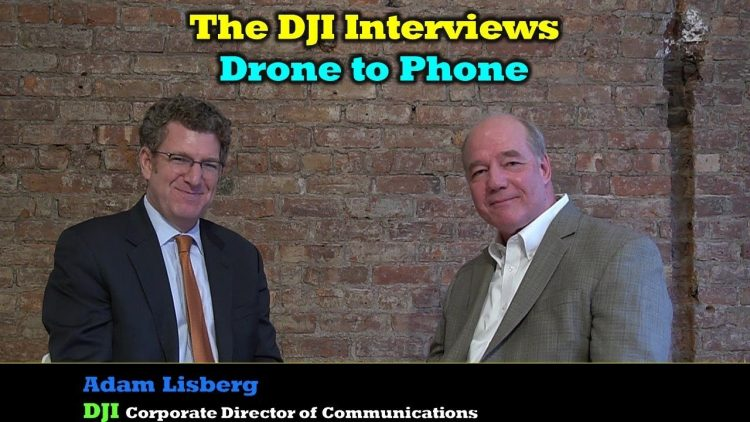 The DJI Interviews – Drone To Phone Application Discussed in Detail
