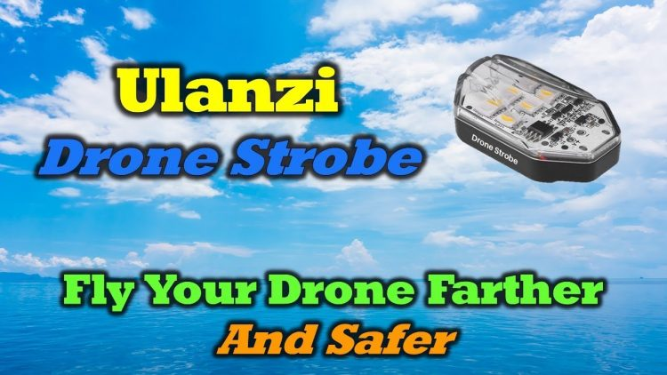 Ulanzi Drone Strobe – Safely Increase Your Flight Distance!