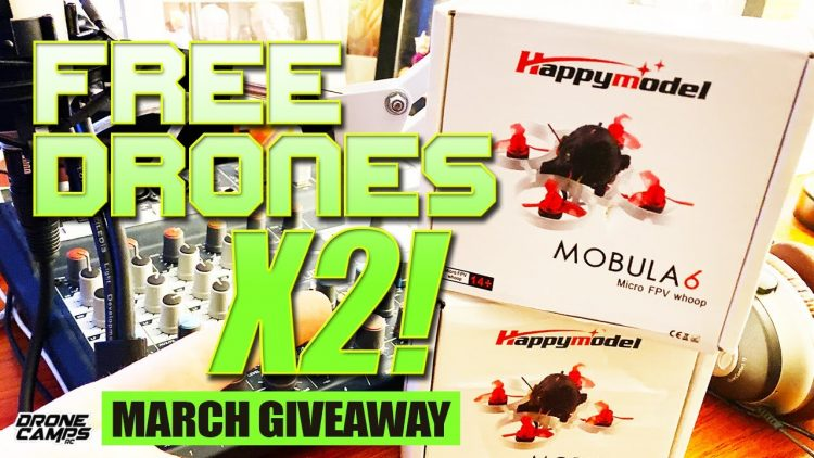 Happymodel Mobula6 X2 GIVEAWAY!!! – ENTER TO WIN A FREE DRONE ?