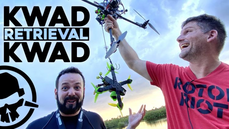 the Kwad Retrieval Kwad! – how to get your drone back…