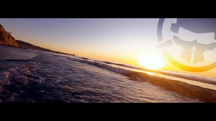 Beautiful Beach Sunset – FPV chill style