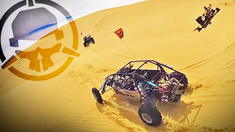 Don't CRASH in the SAND! – FPV drones in the sand dunes