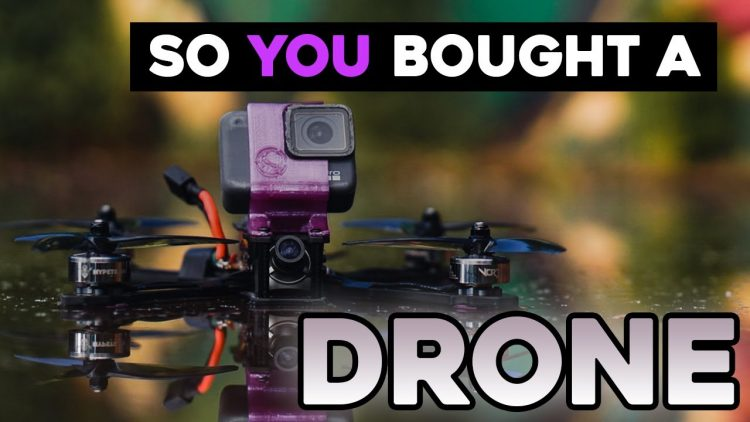So, you bought a FPV Drone! [unboxing, set up, how to test fly]