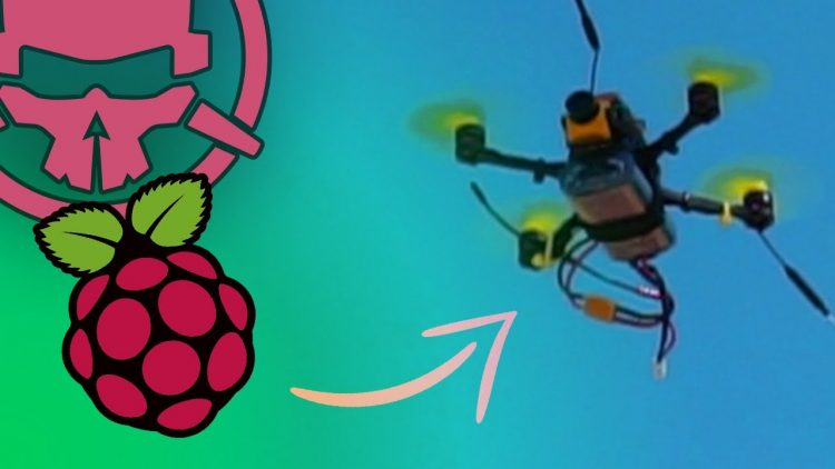 Raspberry Pi… IN THE SKY?! – the micro drone that does it all