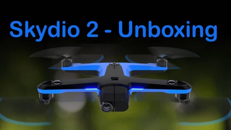 Skydio 2 Unboxing Live